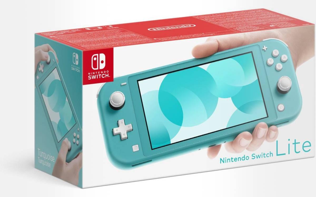 Nintendo Switch Lite à prix réduit