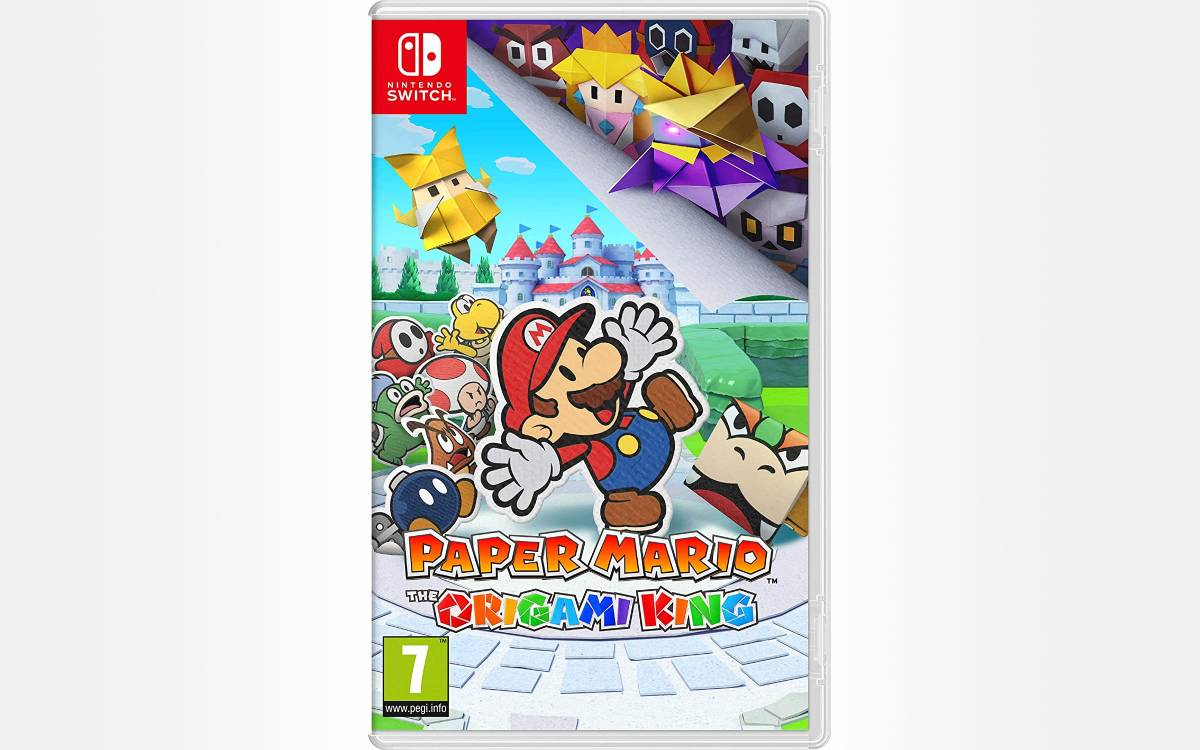 Paper Mario The Origami King en promotion