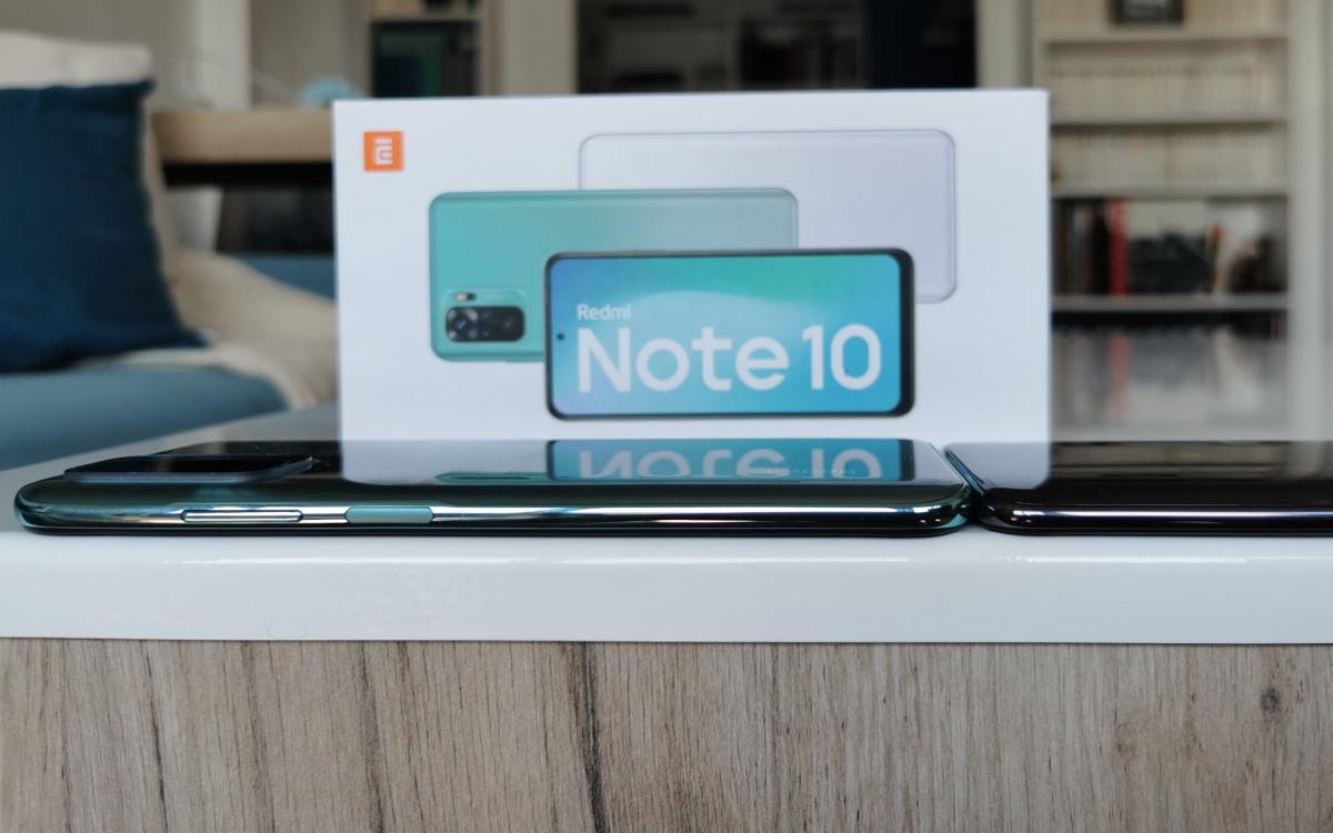 Redmi Note 10 profil vs mi 9