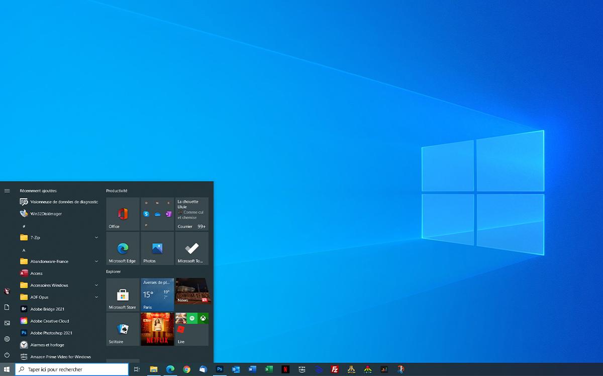 Windows 10 Bureau