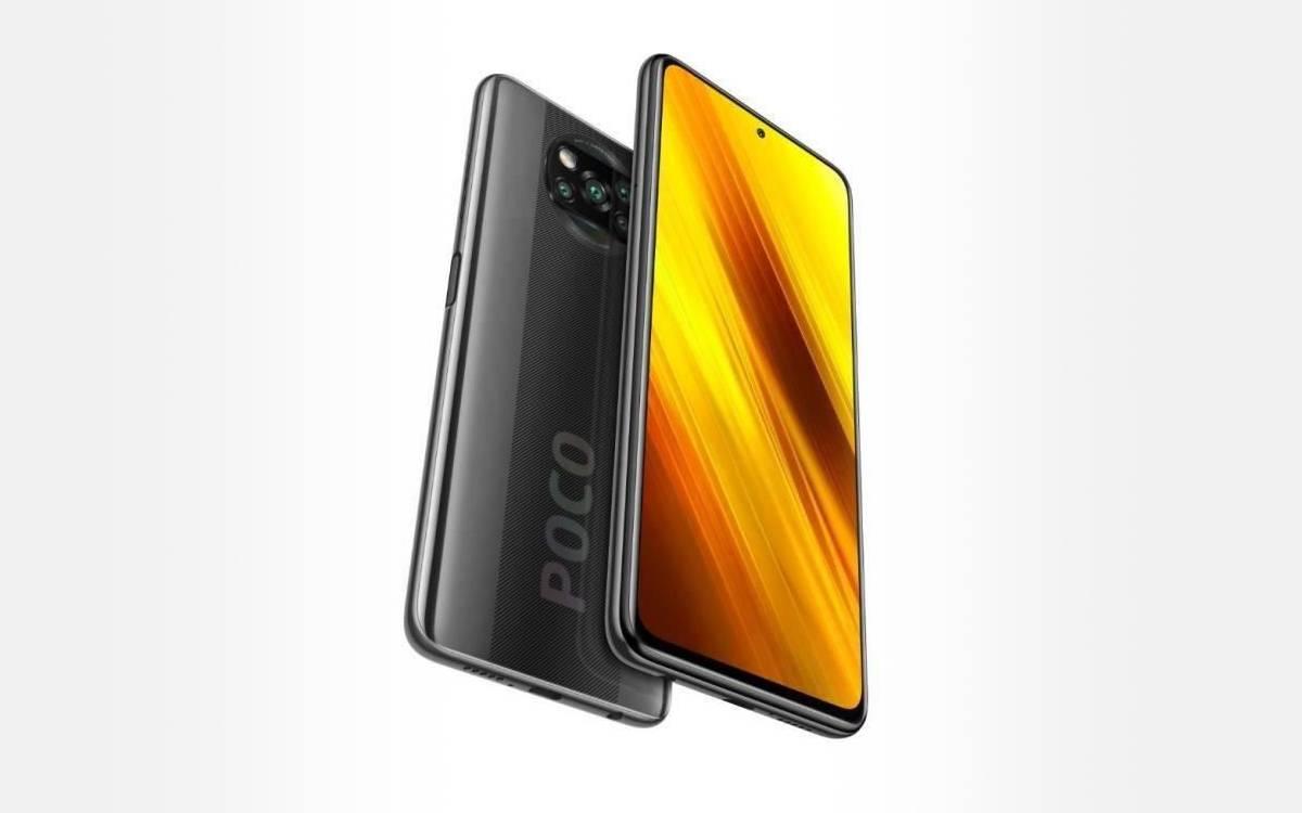 Xiaomi Poco X3 en promotion
