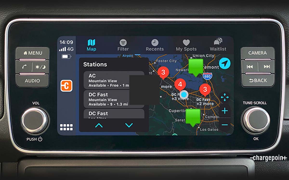 Chargepoint Android Auto