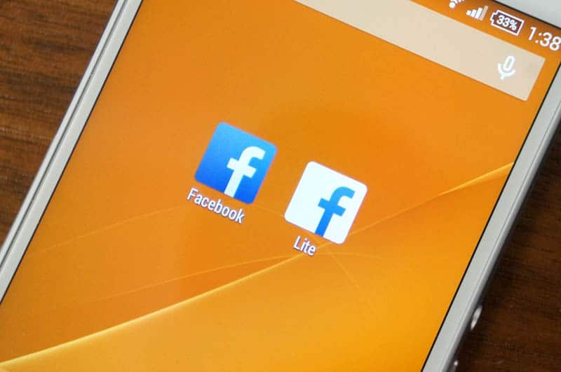 Facebook application Android