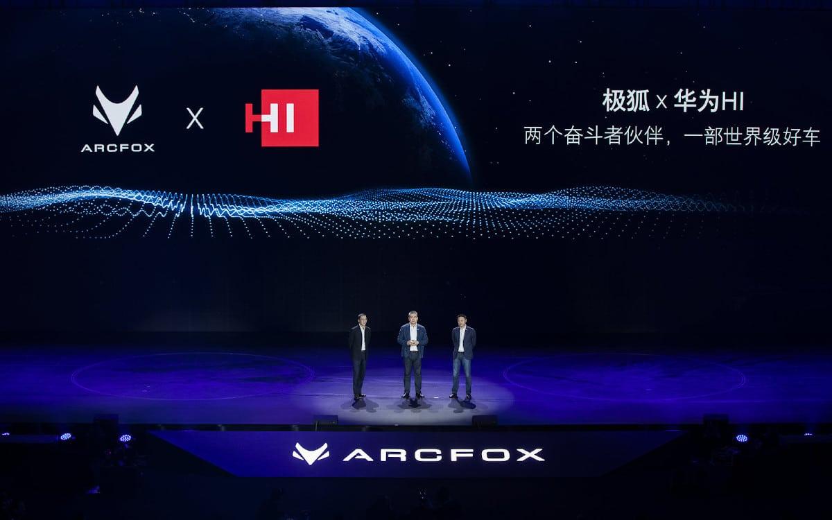 huawei arcfox alpha s