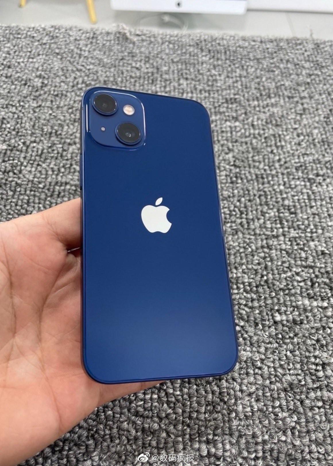iPhone 13 mini 1 - iPhone 13 Mini: a prototype confirms the design of the dual photo sensor