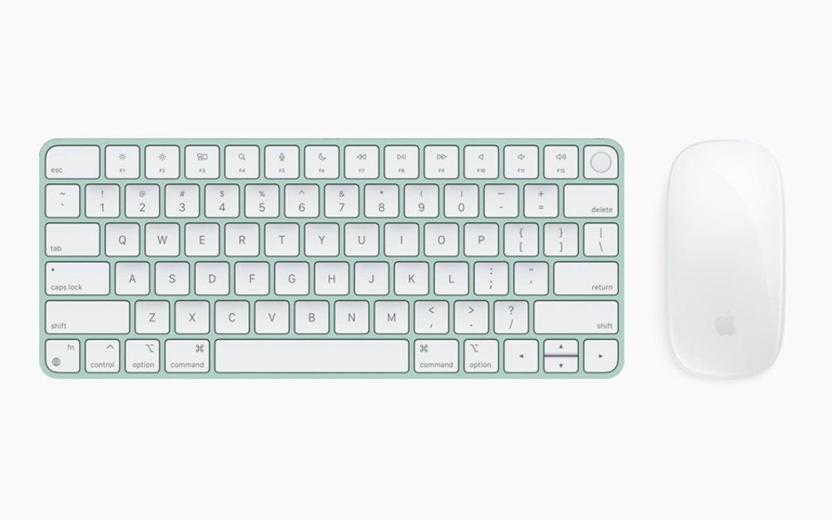 imac clavier touch id