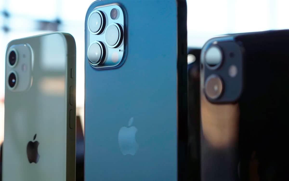 iPhone 12 iPhone 13