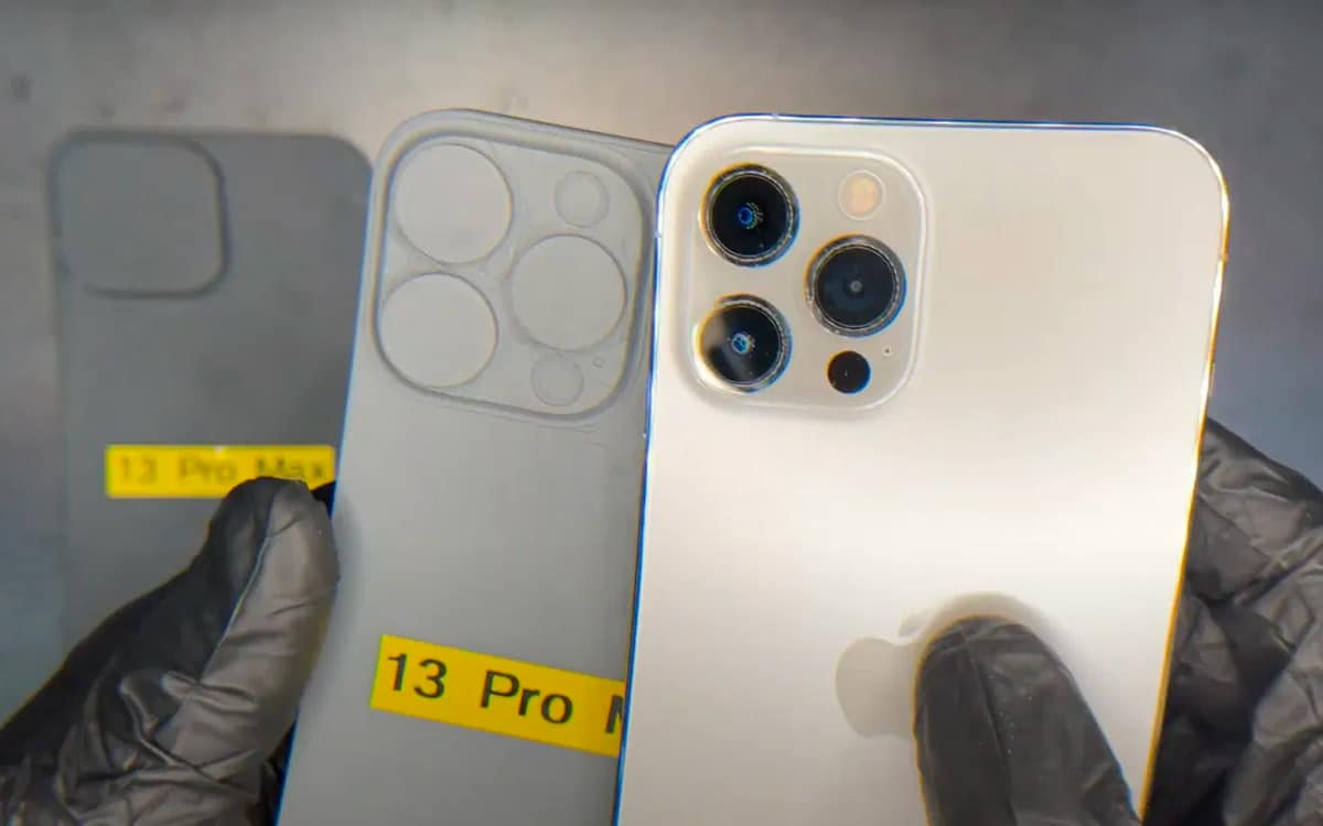 iphone 13 pro max capteurs photo - IPhone 13 Pro Max: the first models confirm that they will have huge photo sensors