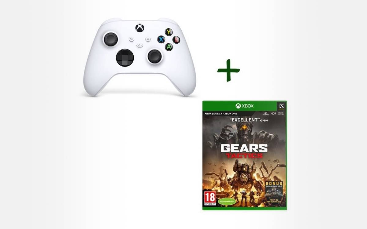 pack manette Xbox Series avec Gears Tactics