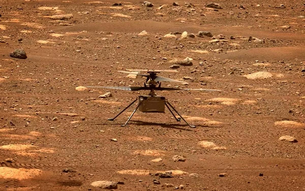 NASA drone perseverance ingenuity