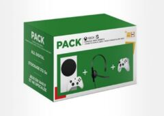 pack console Xbox Series S manette micro casque