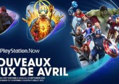 playstation now nouveaux jeux avril 2021