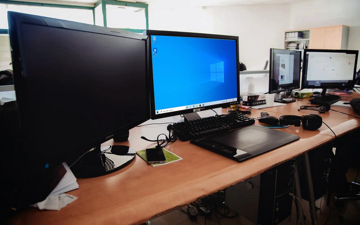 Windows 10 écran externe