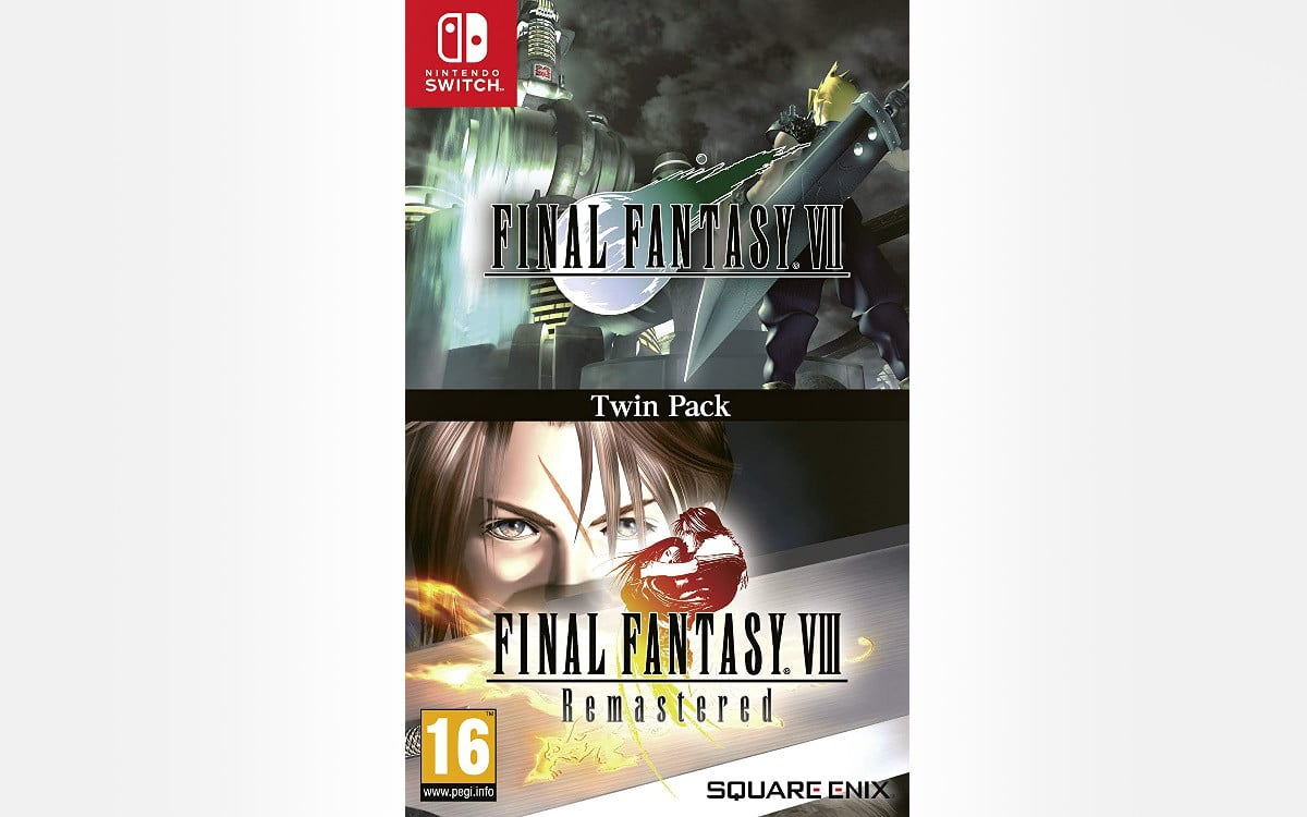 Final Fantasy 7 and 8 Remastered switch