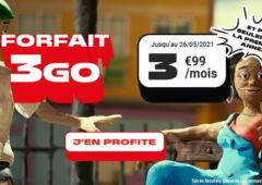 Forfait NRJ Mobile 3 Go