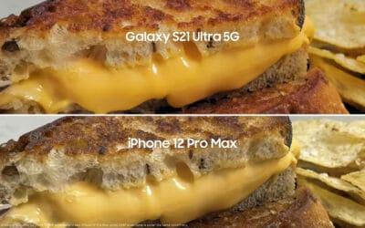Galaxy S21 Ultra vs iPhone 12 Pro Max