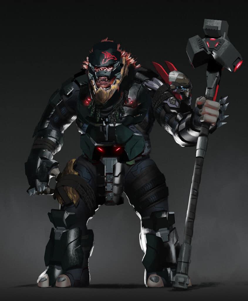 Halo Infinite Brute 1