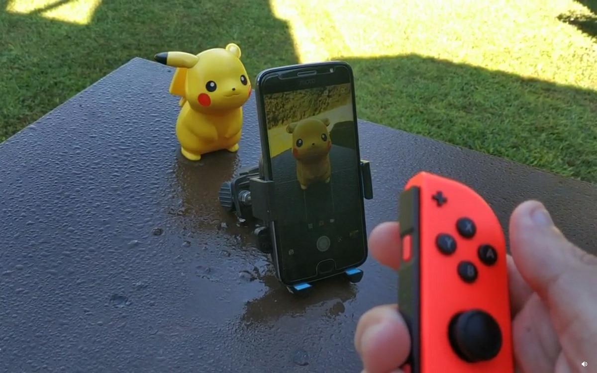 Joy-Con et smartphone