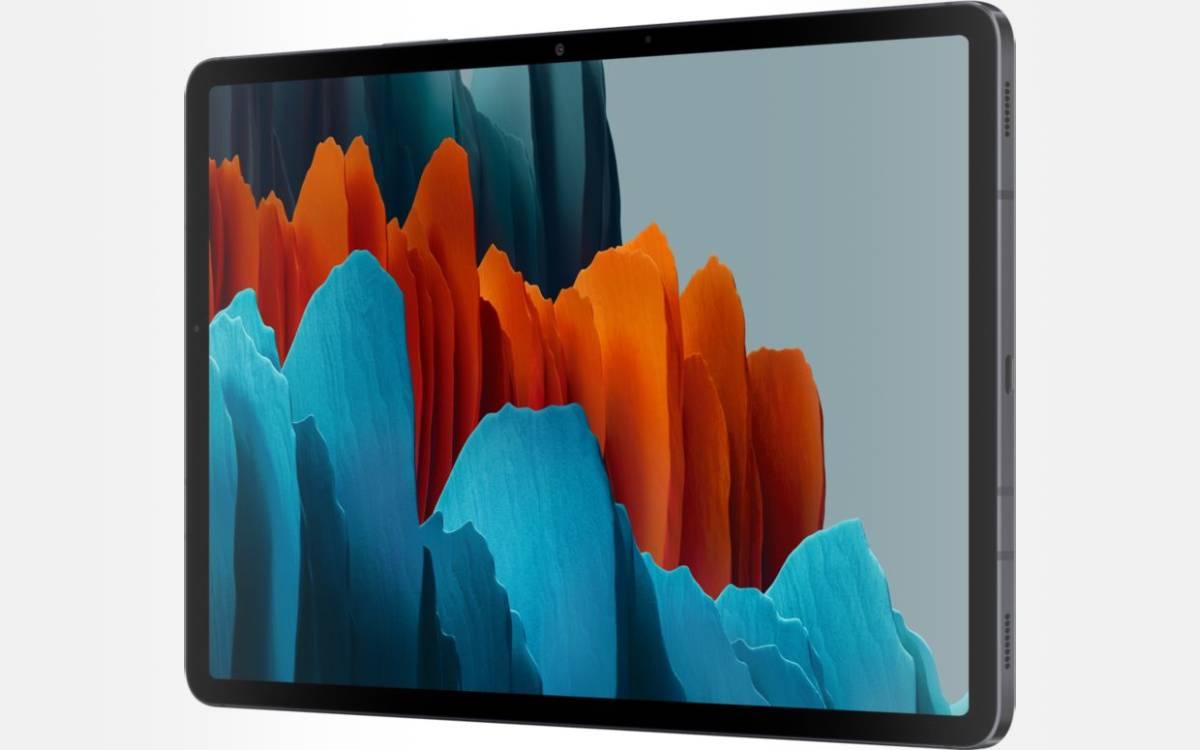Samsung Galaxy Tab S7 en promotion