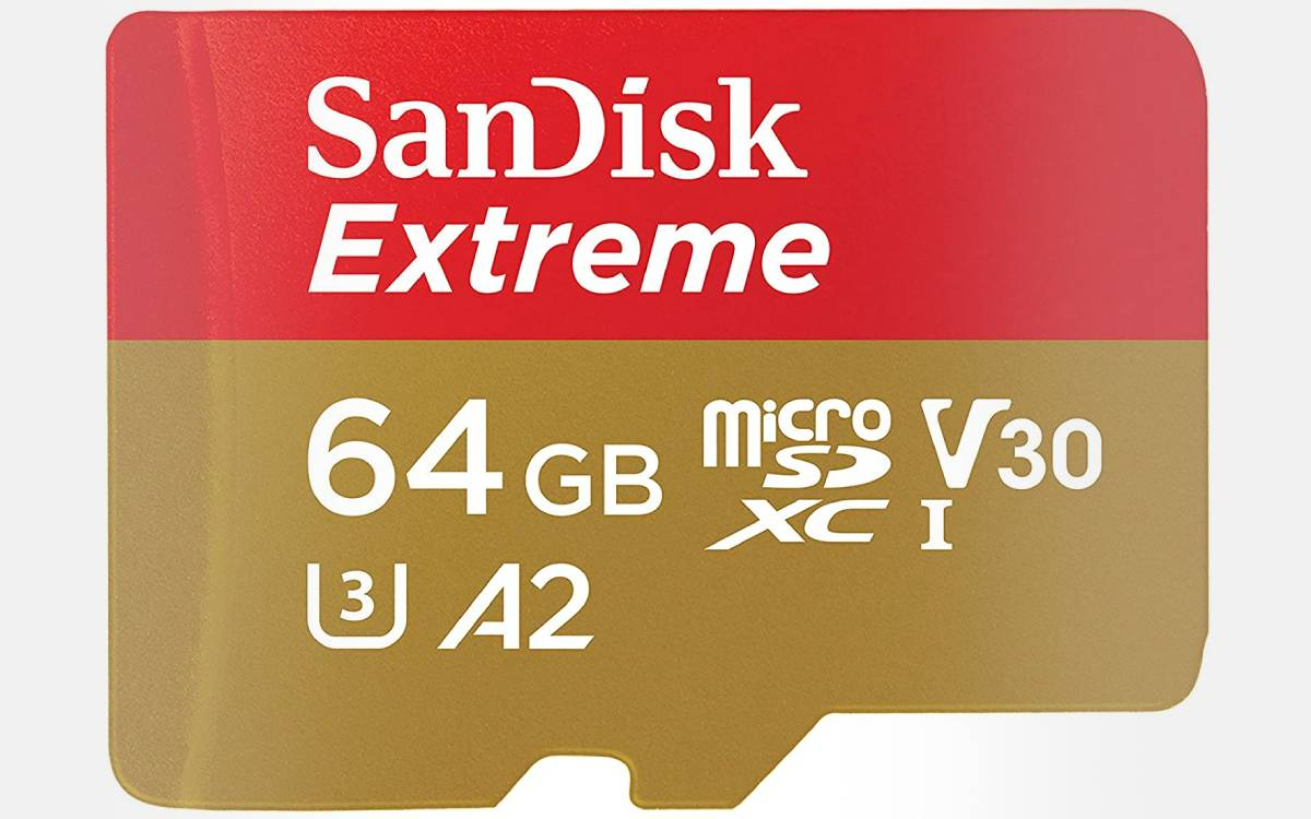 SanDisk Extreme 64 Go à prix réduit
