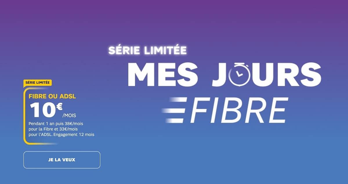 Serie limitée SFR Fibre
