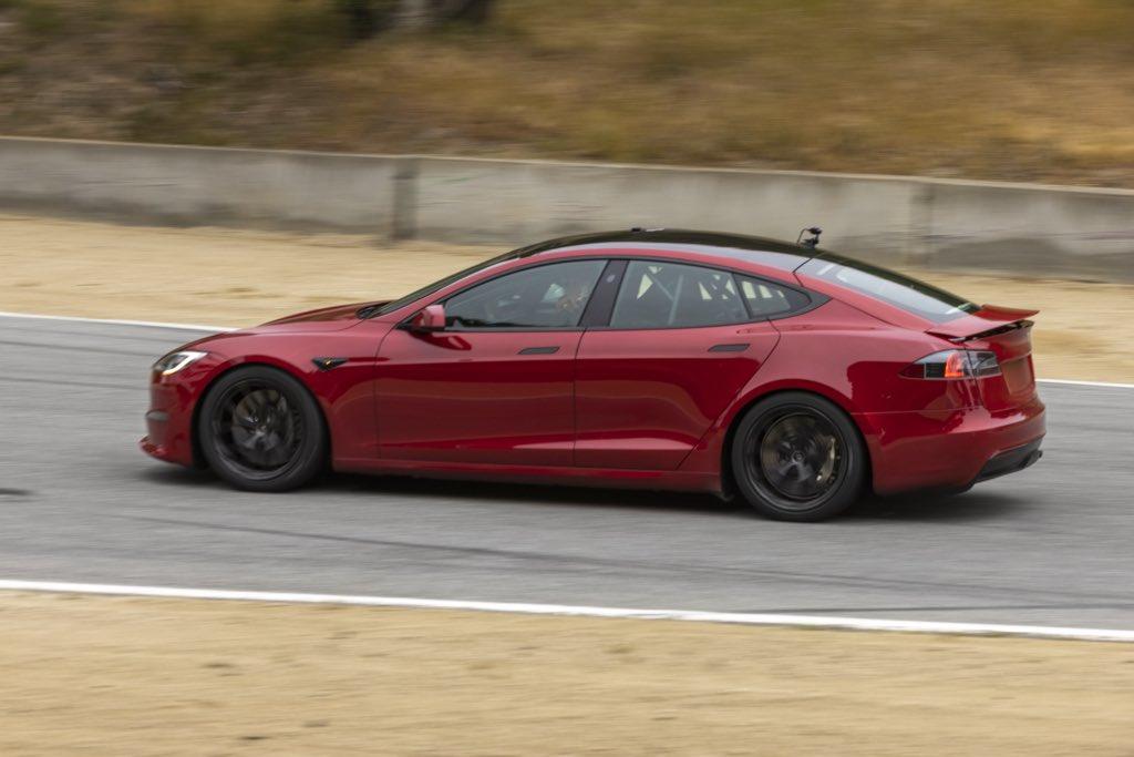 Tesla Model S Plaid prototype