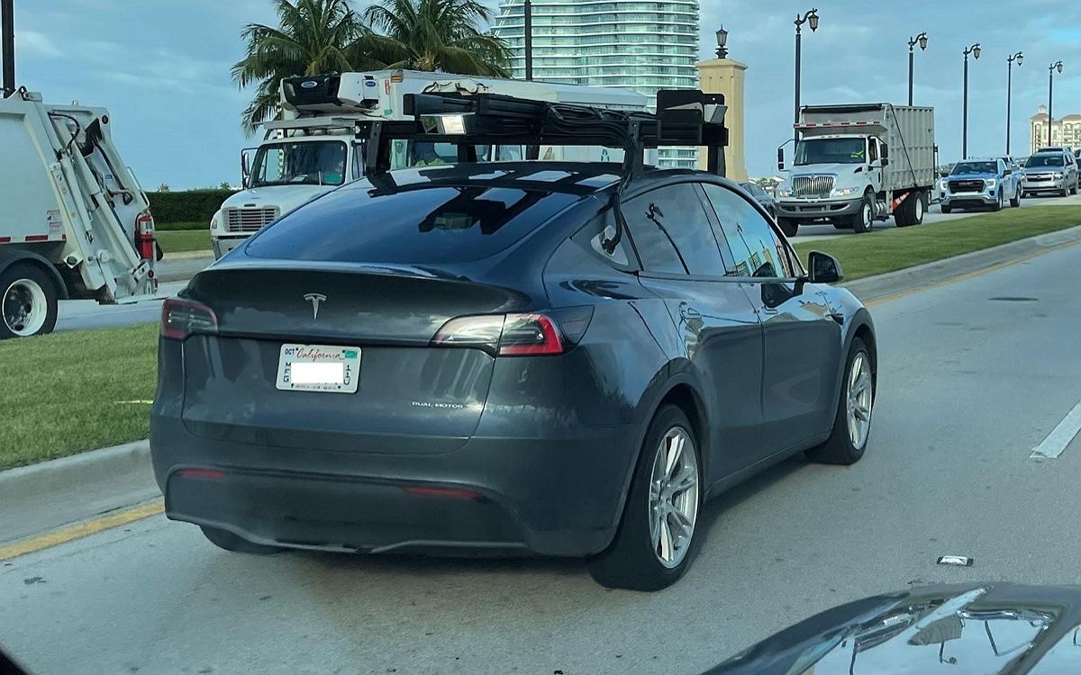 Tesla avec un LiDAR Luminar