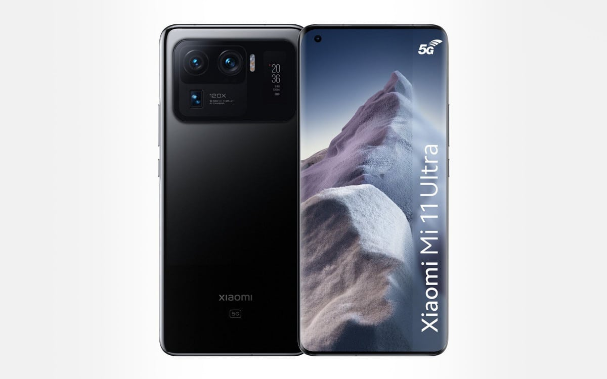 Xiaomi Mi 11 Ultra comparatif meilleur prix