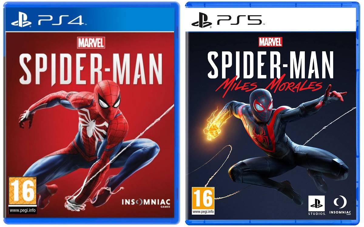 deux jeux Marvel Spider-Man à prix réduits