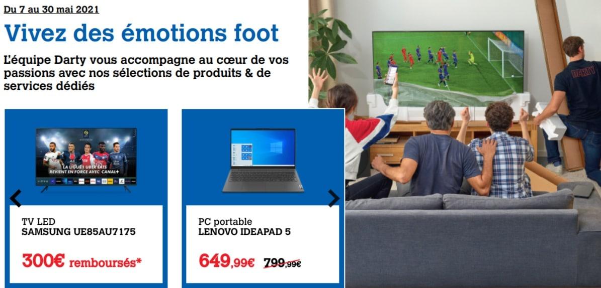 darty foot promo