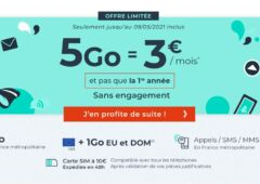 forfait Cdiscount Mobile 5 Go