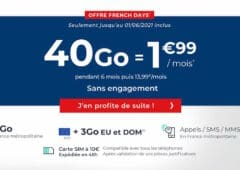 forfait Cdiscount mobile french days 2021