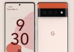 google pixel 6 design