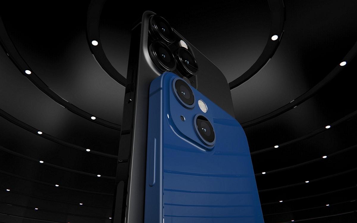 iPhone 13 Pro Max et iPhone 13 mini