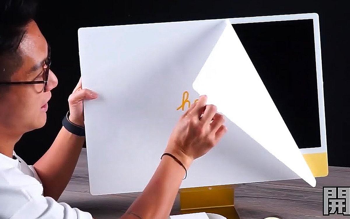 iMac 2021 unboxing