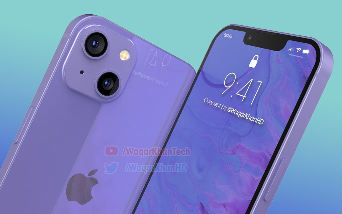 iphone 13 design - iPhone 13: this video reveals the design of Apple's future flagship
