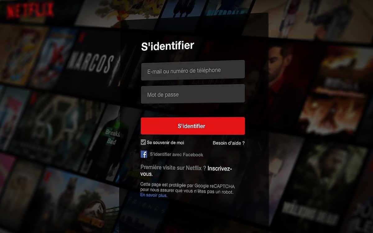 Condivisione della password di Netflix