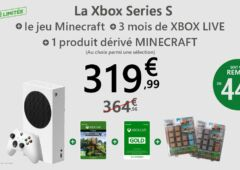 pack Xbox Series S Minecraft