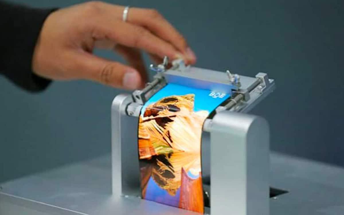 Samsung enroulable