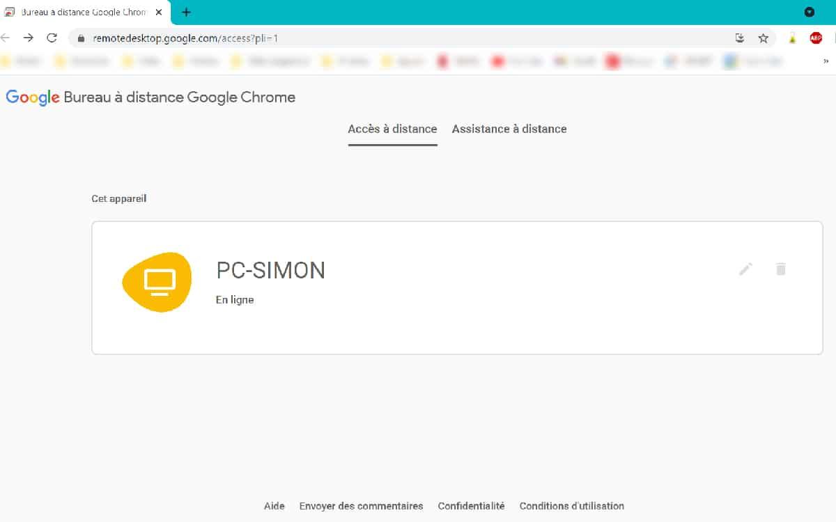 How to control PC smartphone Chrome Remote Desktop