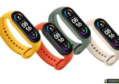 Xiaomi Mi Smart Band 6 couleurs