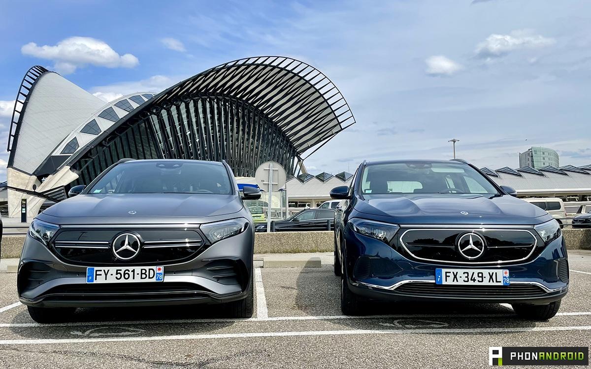 Mercedes EQA AMG vs Progressive