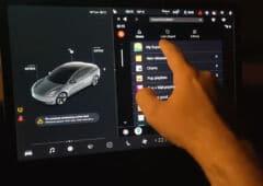 Android Auto sur une Tesla