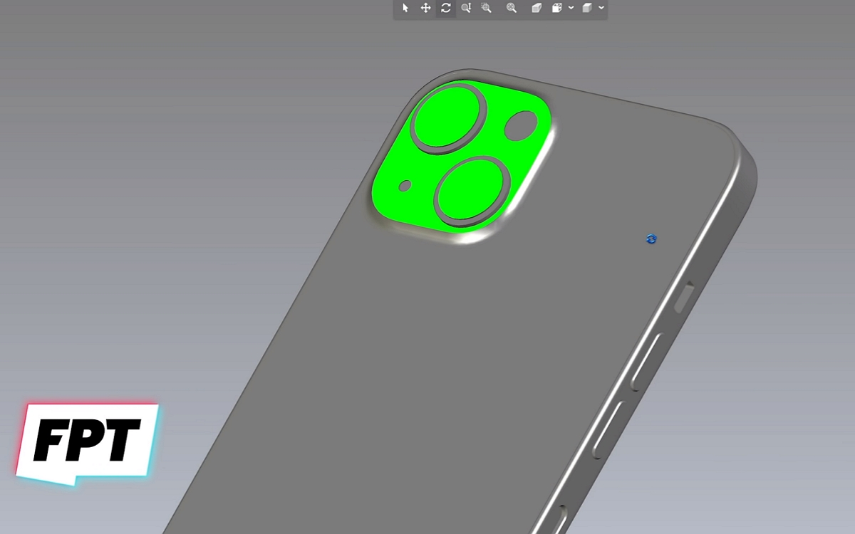 Fichier CAD iPhone 13