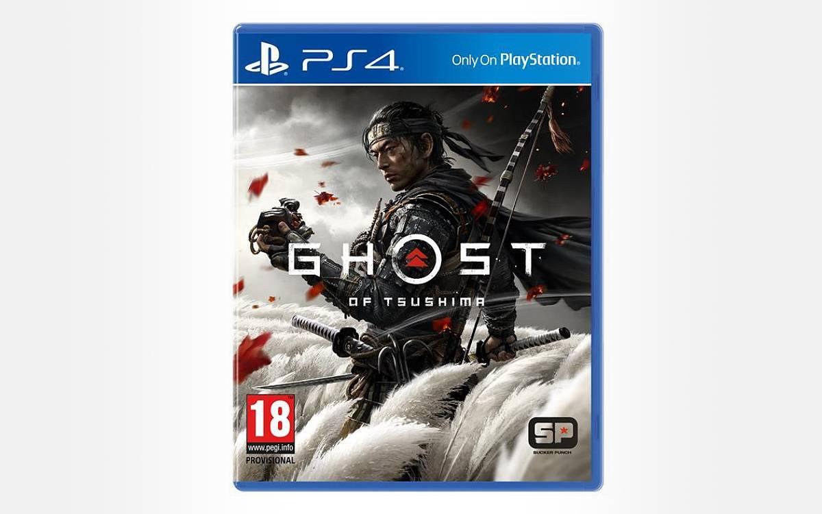 Ghost of Tsushima sur PS4 en soldes