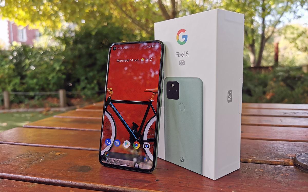 Google Pixel 5 01 - Pixel 5, 4a et 4a 5G, les smartphones de Google sont en promo !