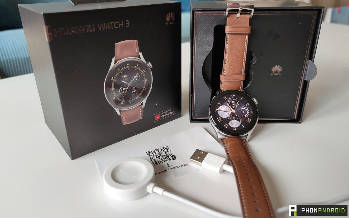 Huawei Watch 3 packaging