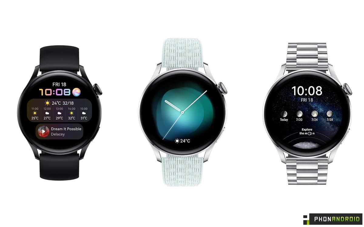 Huawei Watch 3 bracelets