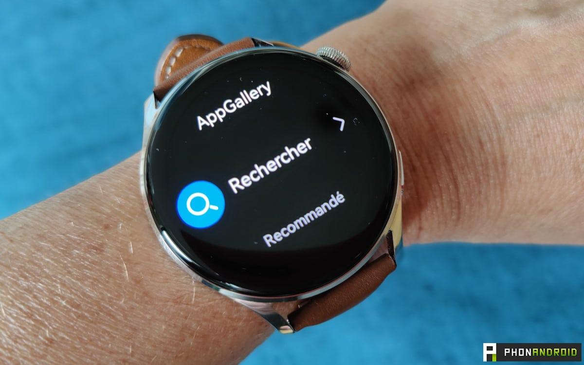 Huawei Watch 3 appgallery