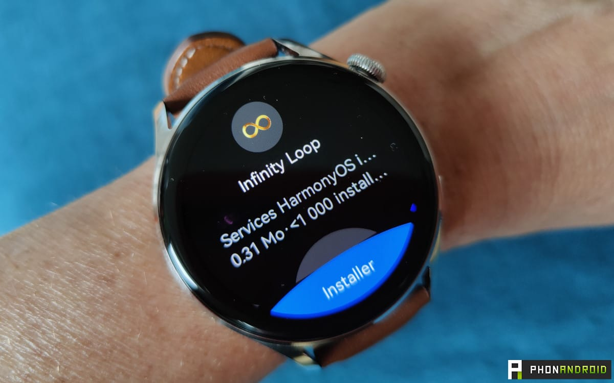 Huawei Watch 3 AppGallery install